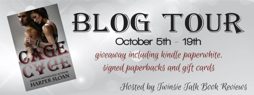 BLOG TOUR - Cage (Corps Security #2) - Harper Sloan