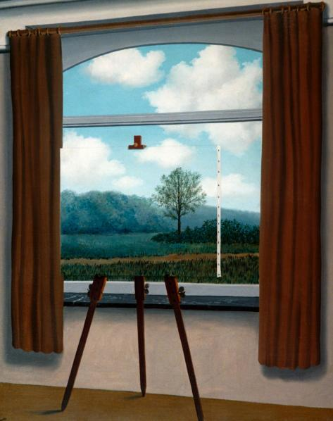 1933-Rene-Magritte-The-Human-Condition